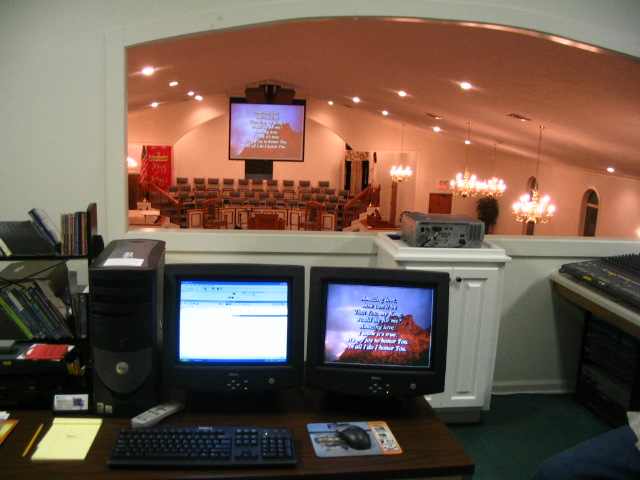 church projector system 007 complete audio video stage sound church temple mosque synagogue  at readyjetset.co